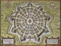 palmanova mappa della fortezza