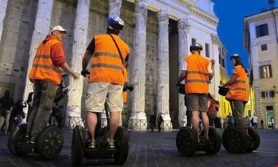 roma rome segway night tour
