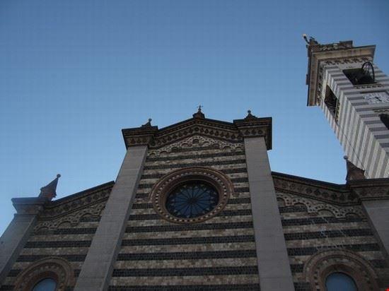 Parte alta della facciata