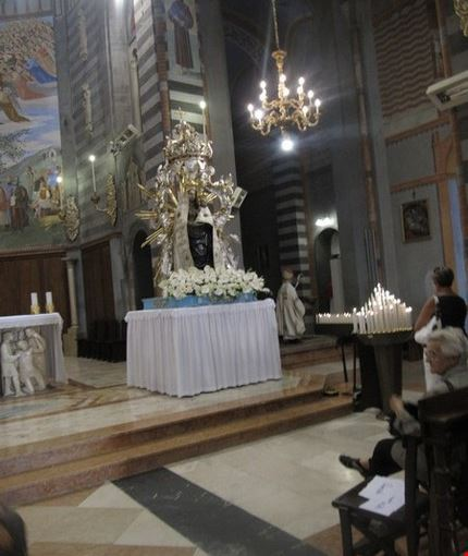 Statua lignea della Madonna