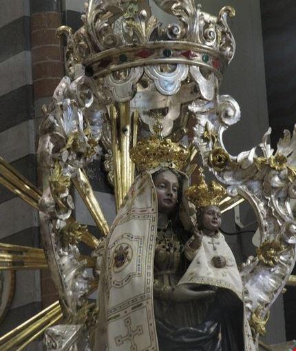 Volti della Madonna e di Gesù