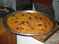 farinata con salsicce