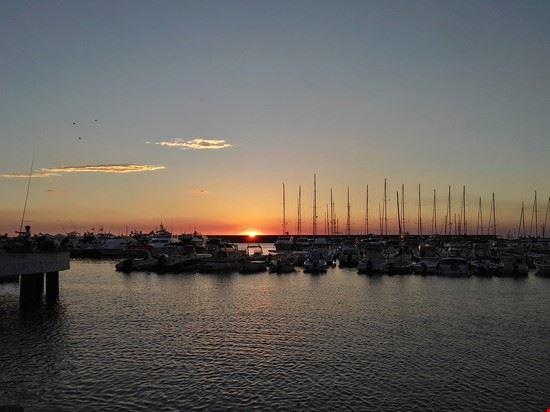 tramonto dal porto forio