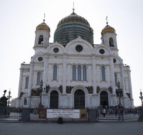 cattedrale di cristo salvatore mosca