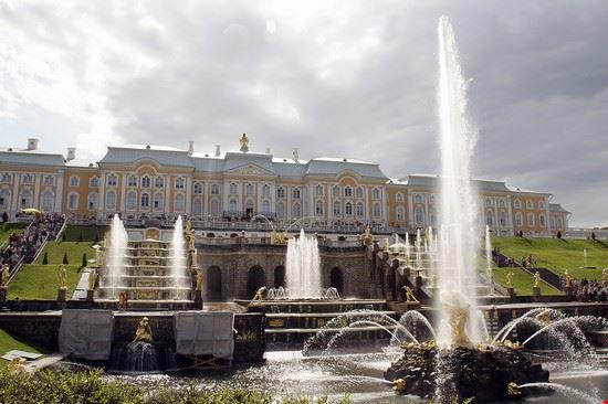 Peterhof residenza estiva zar