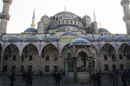 la sultanahmet moschea blu istanbul