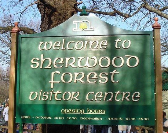 nottingham sherwood forest