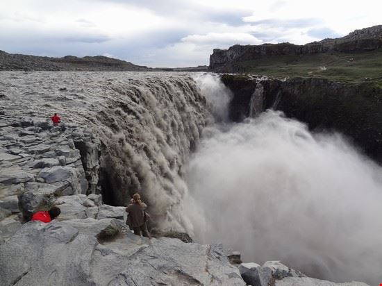 108745 reykjavik cascata di dettifoss