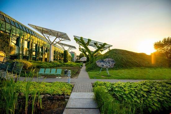 varsavia tetto giardino
