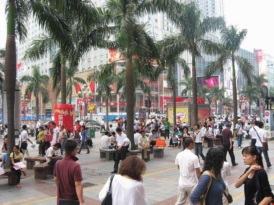 shenzhen huaqiang road