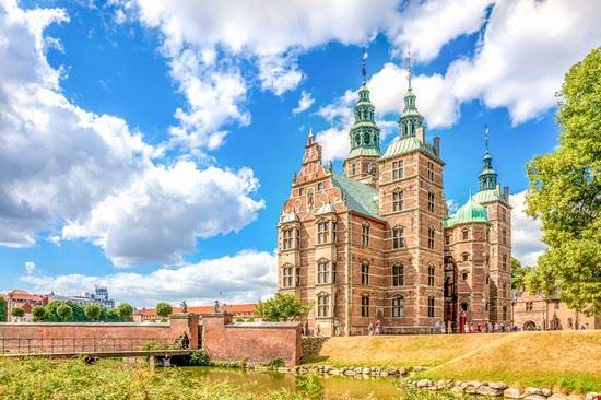 copenaghen castello di rosenborg
