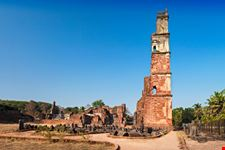 goa rovine chiesa saint augustine