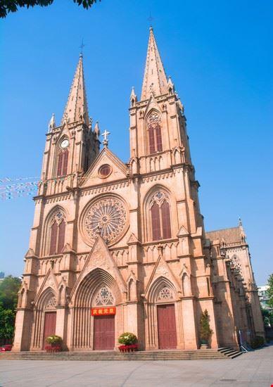 guangzhou cattedrale del sacro cuore di guangzhou