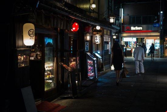 kyoto vita notturna