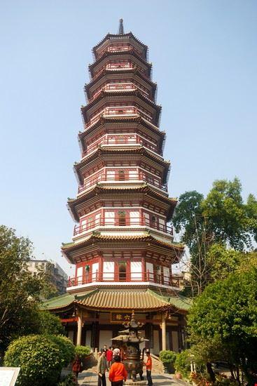 guangzhou tempio dei sei baniani