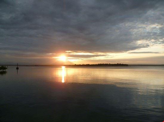 tanga sunset