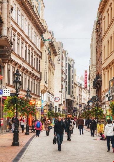 vaci utca budapest