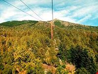 Ascención en teleférico al Cerro Otto, Bariloche, Argentina.