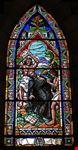 Cattedrale di Bariloche - Vetrata del martirio di padre Nicolas Mascardi