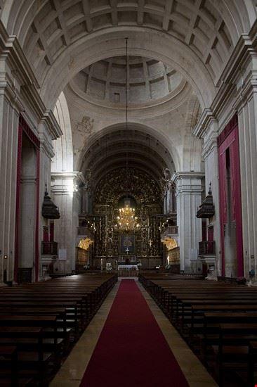 coimbra cattedrale nuova di coimbra interno