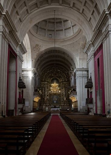 Cattedrale nuova di Coimbra - Interno