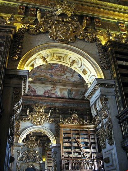 coimbra biblioteca joanina 1