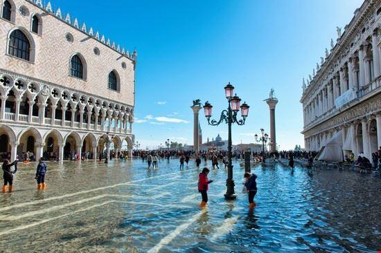 109809 venezia acqua alta