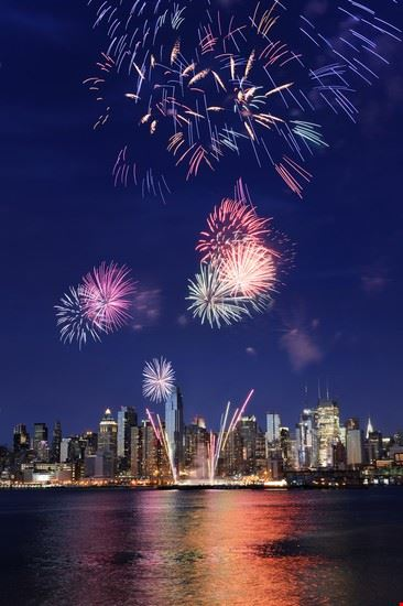 fuochi d artificio new york