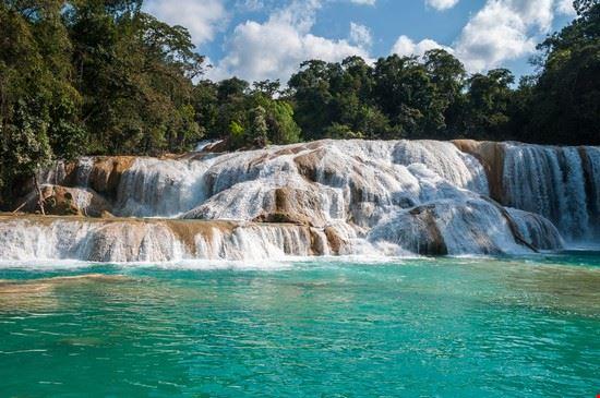 palenque cascate di agua azul