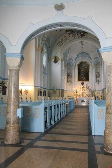 chiesa blu a bratislava in slovacchia bratislava
