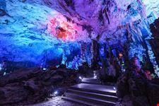 guilin grotta del flauto di canne