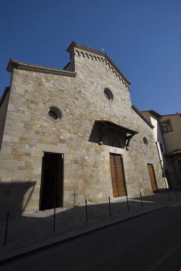 Facciata della pieve di san lorenzo - Borgo San Lorenzo