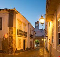 110233 faro faro portugal at night