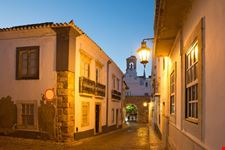 faro portugal at night
