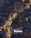 courtenay place at night wellington