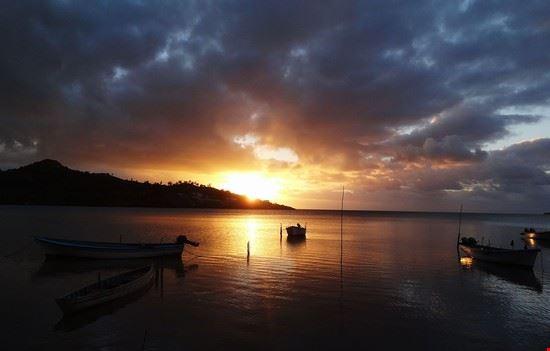 rodrigues island rodrigues island sunset