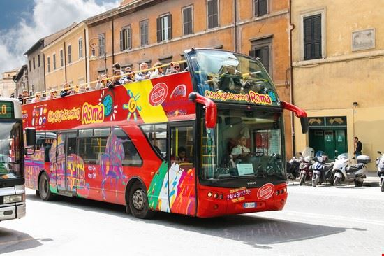 roma autobus scoperto