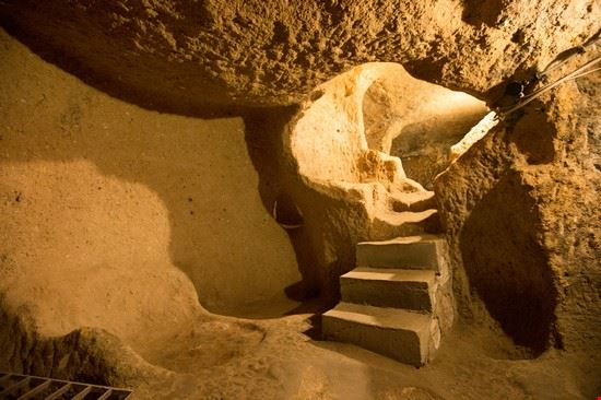 Città sotterranea di Kaymakli