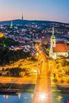 panoramica bratislava
