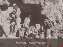 Miniera Lucia - minatori in attività