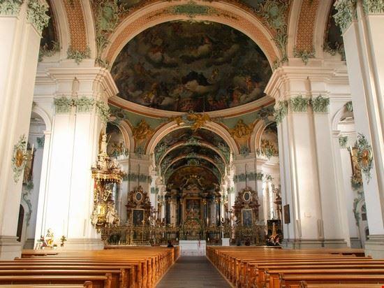 110894 bregenz abbazia di san gallo
