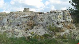 Uno scorcio della Miniera Ciavolotta, particolare.