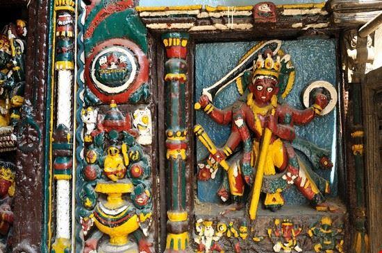 kathmandu tempio della dea kali