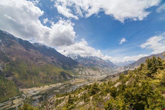 kathmandu circuito dell  annapurna