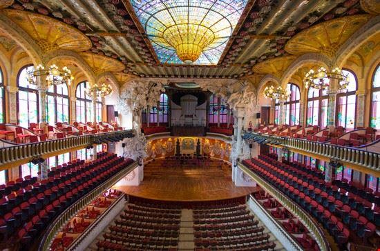 barcellona palau della musica catalana