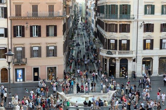 roma via condotti