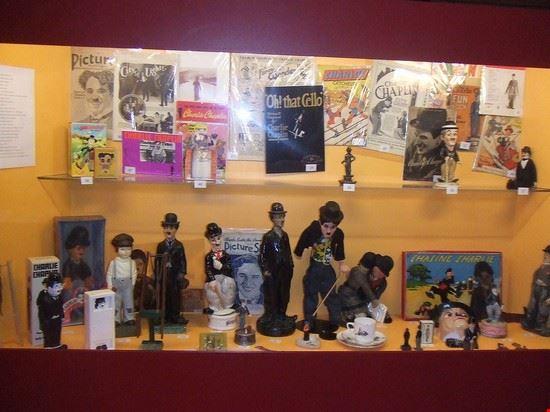 londra charlie chaplin memorabilia