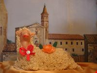 L'agnello pasquale, il dolce tipico locale di Favara.
