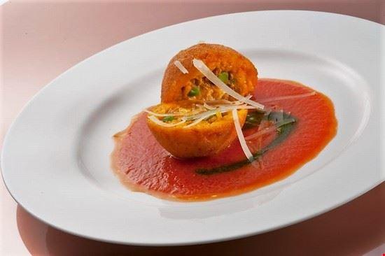 Arancino siciliano in veste gourmet
