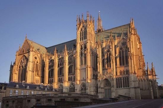 111745 metz cattedrale santo stefano di metz